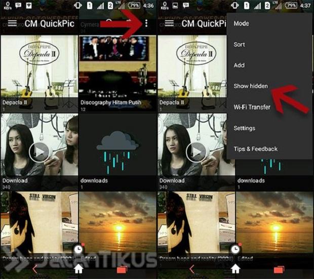 Cara Membobol File Foto dan Video Tersembunyi Pada Smartphone Android Tanpa Root