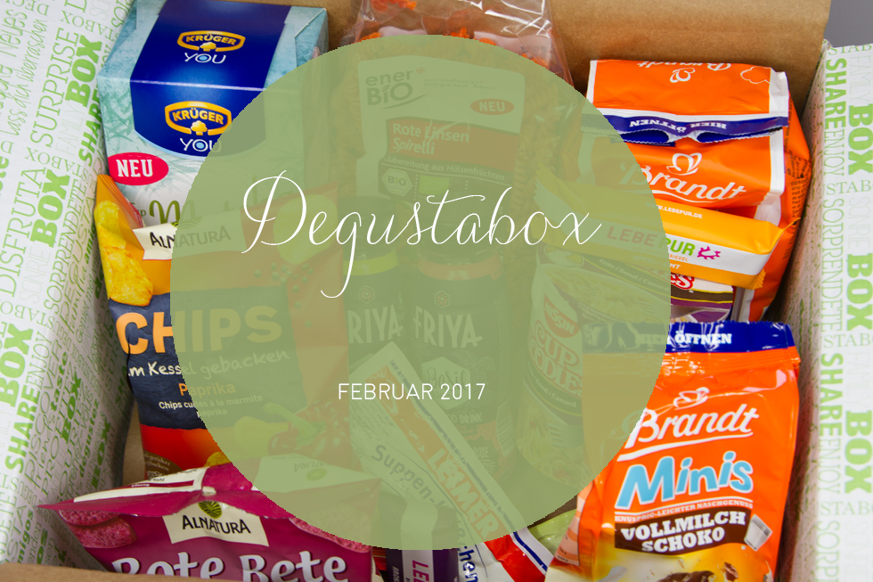 Degustabox - Februar 2017 - unboxing