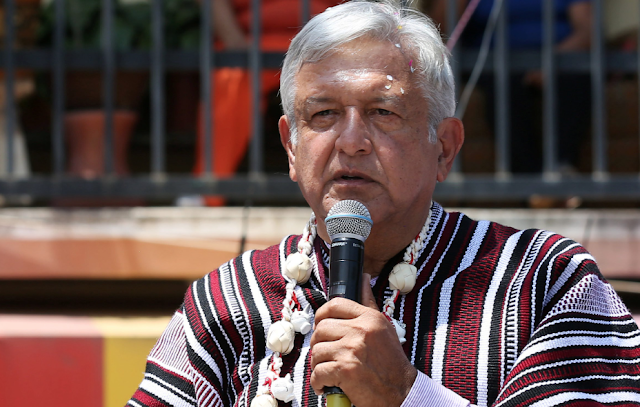 "Mexican presidential candidate calls for mass immigration to the United States during a speech Tuesday declaring it a ""human right"""