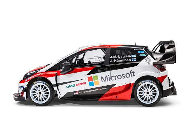 TOYOTA GAZOO Racing Yaris WRC - Side