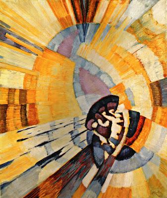 Frantisek Kupka, Forme de Jaune (Notre Dame), 1911, Oil on Canvas. 73 x 59.5cm
