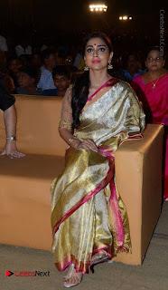 Actress Shriya Saran New Images in Silk Saree at Gautamiputra Satakarni Audio Launch  0012.jpg
