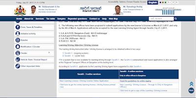 Transport Official site of Karnataka Government