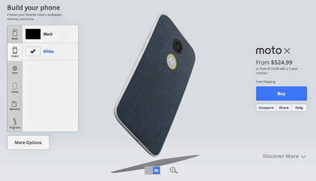 Motorola Moto X 2014 Specifications
