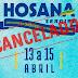 HOSANA SERGIPE 2018 -  NOTA DE CANCELAMENTO -
