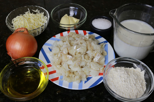 Ingredientes para bacalao espiritual