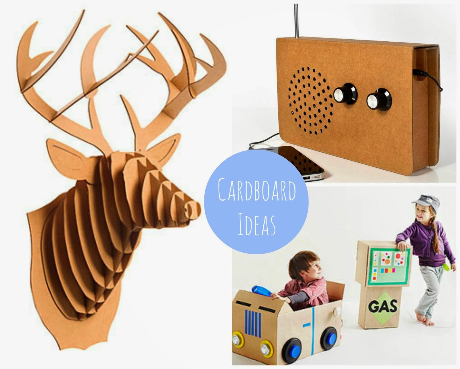 pomysły z kartonu