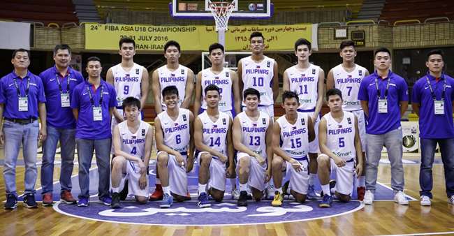 Fiba asia u18 championship 2016 final standings batang for Championship table 98 99