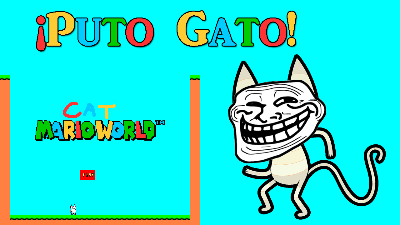 Cat Mario World YouTube Png