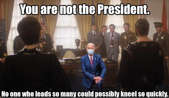 Joe Biden weak