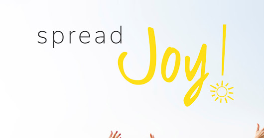 October 11 is National Spread Joy Day