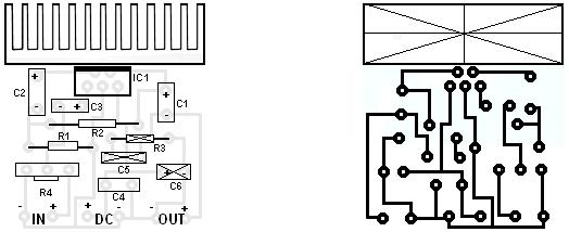 electronics projects  10w mini audio amplifier