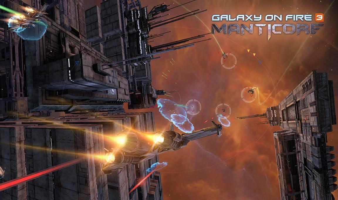 Ya puedes hacer el registro previo de Galaxy on Fire 3- Manticore