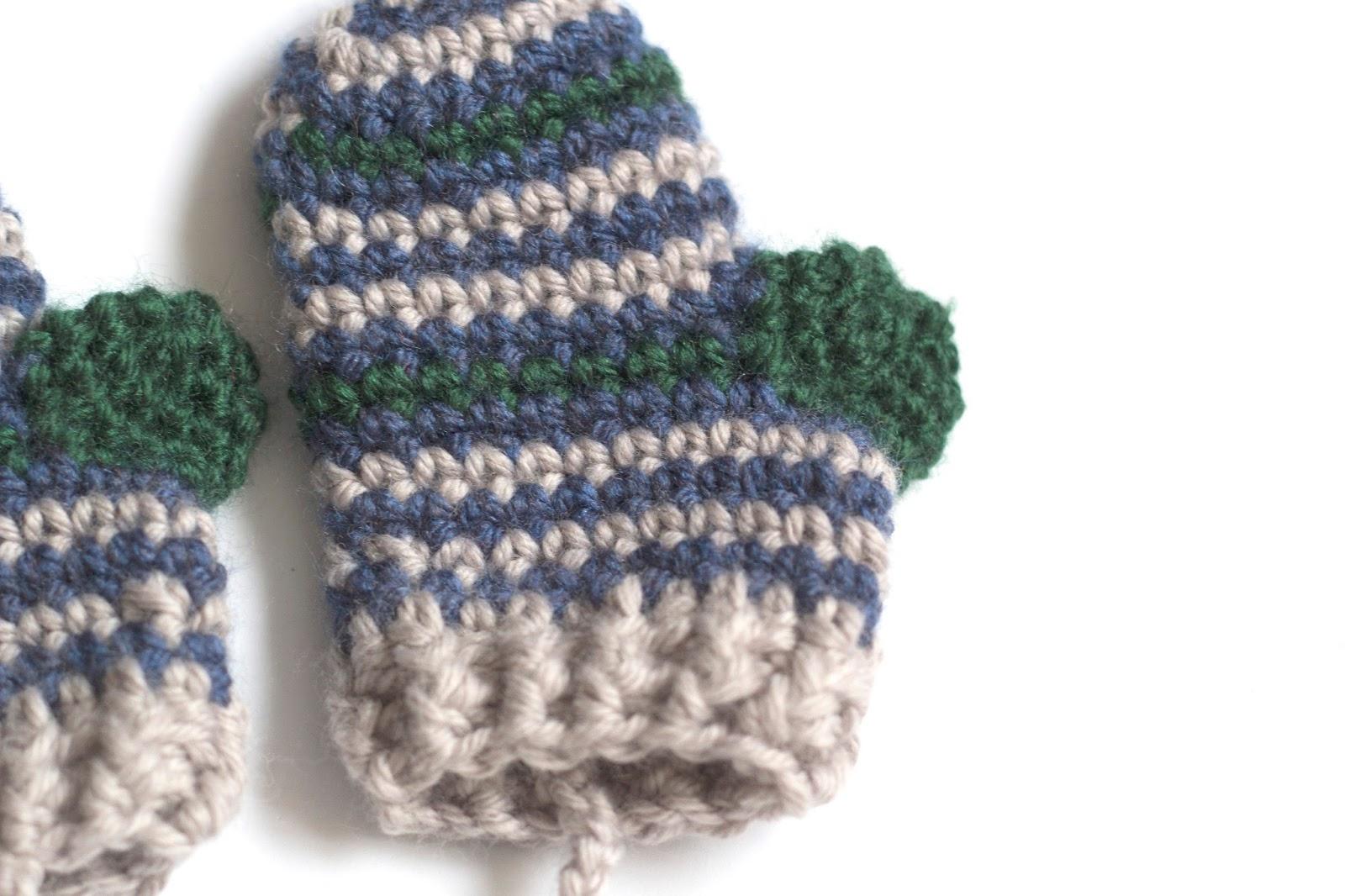 Dorable Los Patrones De Crochet Manopla Gratuitas Bosquejo - Ideas ...