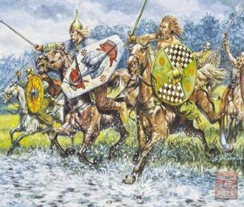 Painting Gallic & Celtic Cavalry picture 2