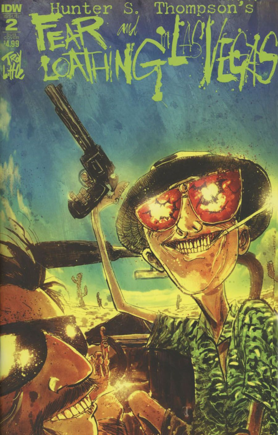 Fear and Loathing in Las Vegas, Hunter S. Thomas