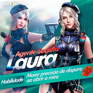 laura free fire