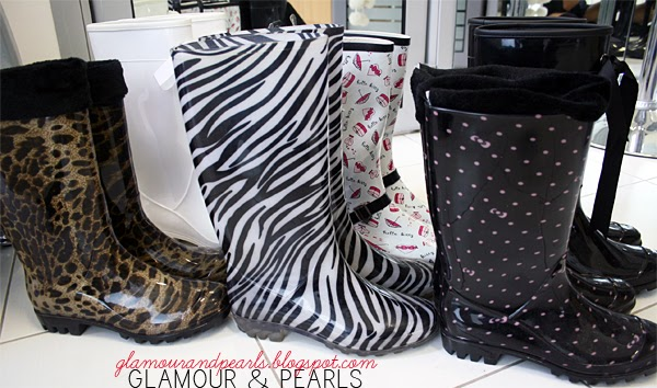 Glamour Amp Pearls My Wellington Boots Collection