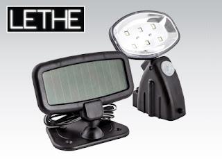 Reflektor solarny z czujnikiem ruchu LETHE z Biedronki
