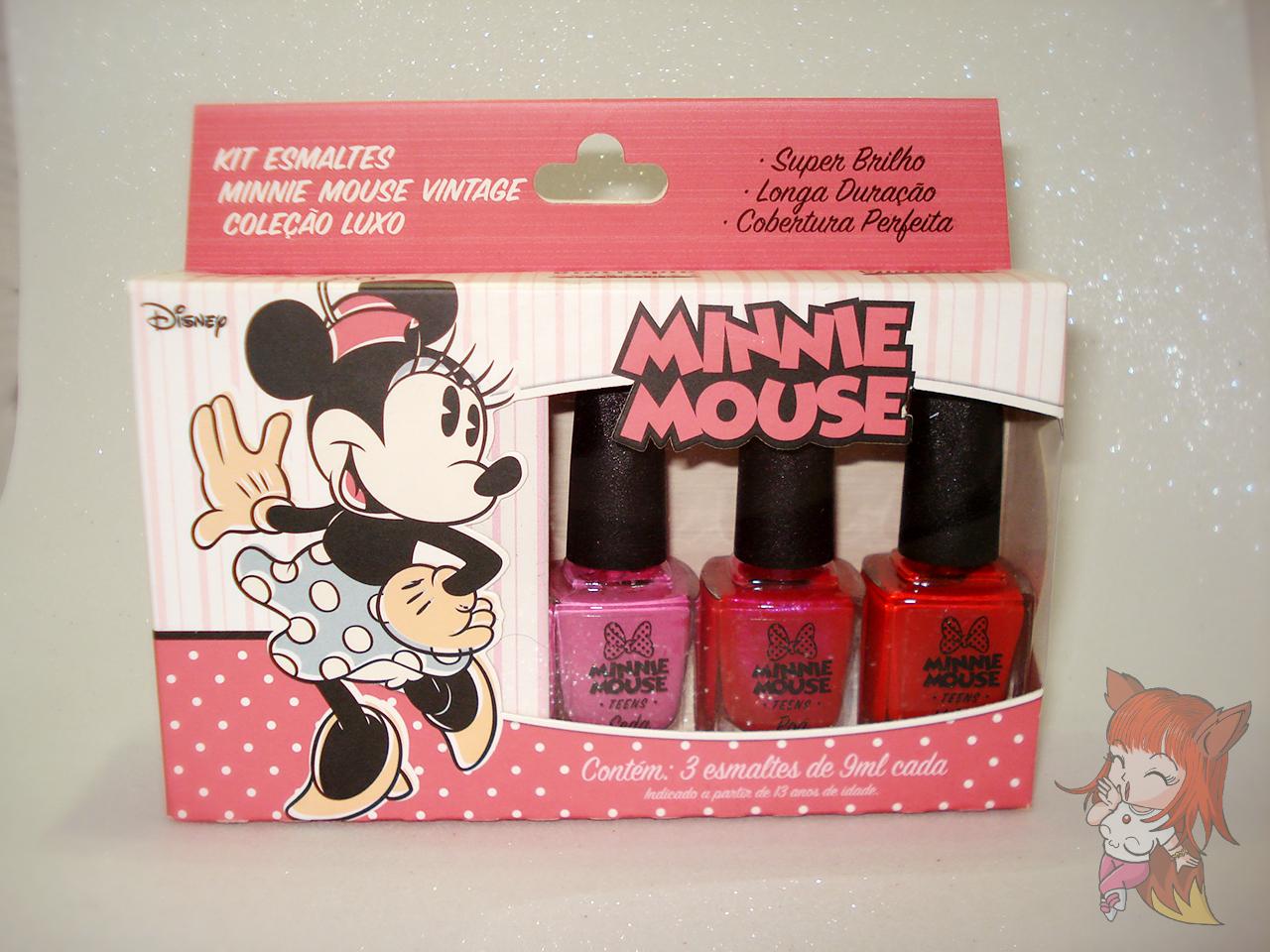 Esmalte Minnie Mouse :: Seda - Resenha