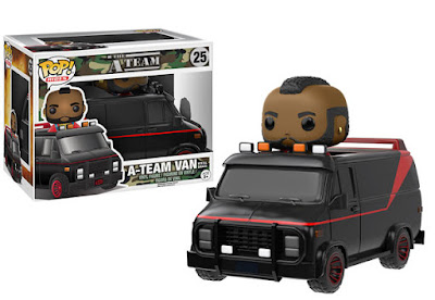 The A-Team Van Pop! Rides with B.A. Baracus Pop! Vinyl Figure by Funko