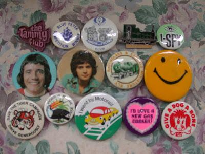 1960s 1970s Badges