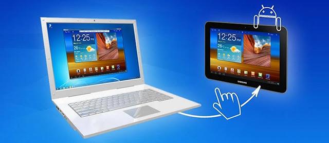 Aplikasi Android untuk mengendalikan Komputer menggunakan Smartphone