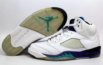 74bb80249beb The New Nike LeBron 14s Have Serious  Back to the Future  Vibes. 2016 NIKE  AIR JORDAN V 5 RETRO LS WHITE EMERALD GREEN-GRAPE ICE