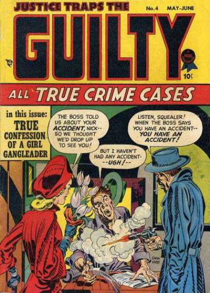 Jack Kirby: Justice Traps the Guilty