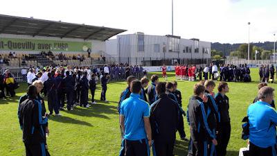 LE PETIT-QUEVILLY. Durant trois jours, les meilleurs espoirs du football français se retrouvent au stade Lozai.