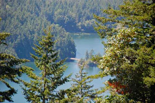 Cascade Lake Orcas Island Washington USA