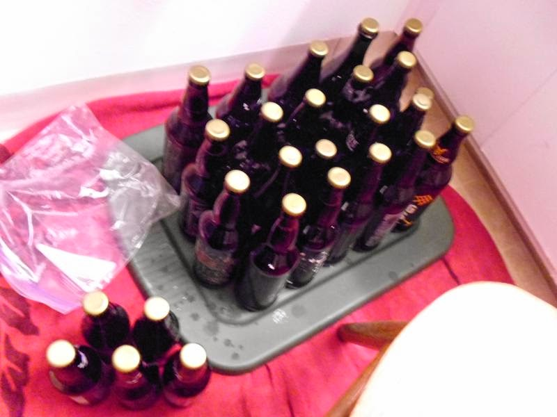 Bottles upon Bottles of Cider