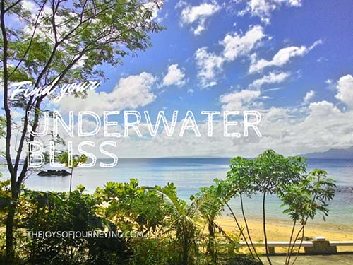 Misibis Bay Under Water Bliss
