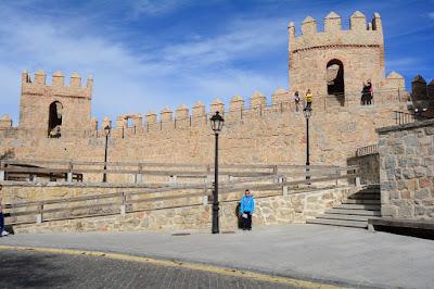 Murailles au niveau de la porte del Carmen