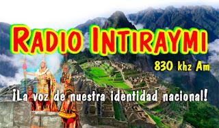 Radio Inti Raymi 830 Am Cusco