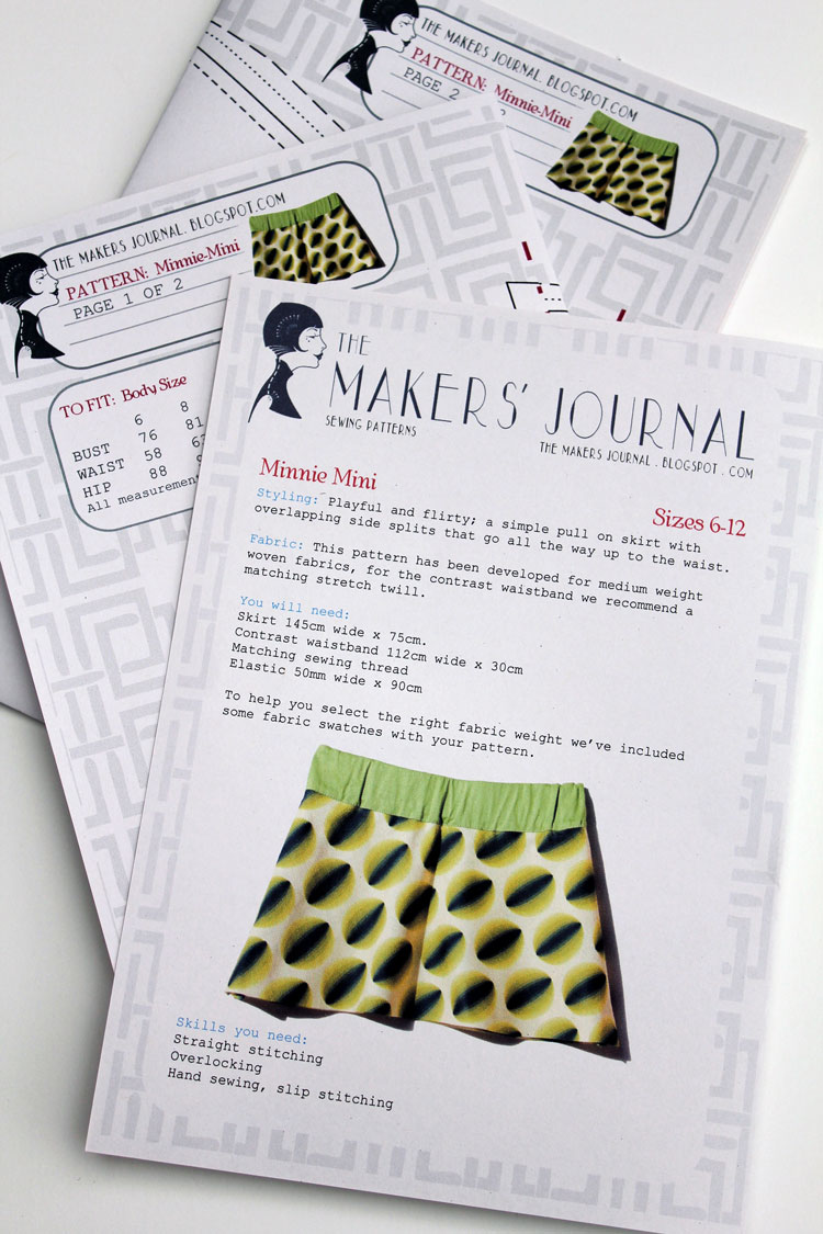 The Makers' Journal: Patterns