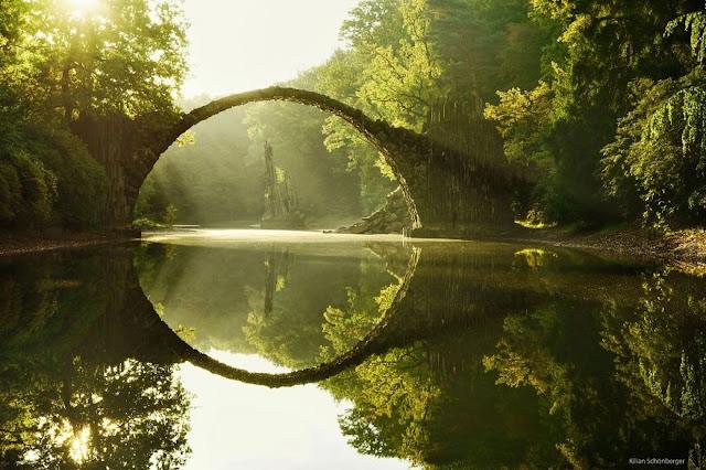 Bridge Rakotz Brucke Germania