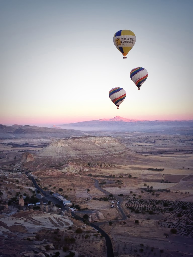 Cappadocia - Sun is rising and so are we