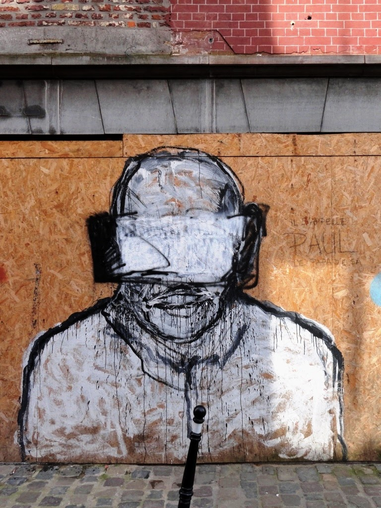 graffiti et street art dans les rues de Namur
