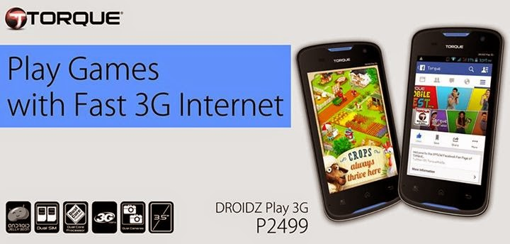 Torque DROIDZ Play 3G Price Drop