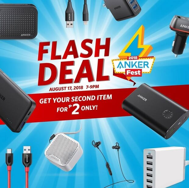 Ankerfest 2018 Flash Deal; Buy 1 Regular Item, Get the Second 1 for Only 2 Pesos
