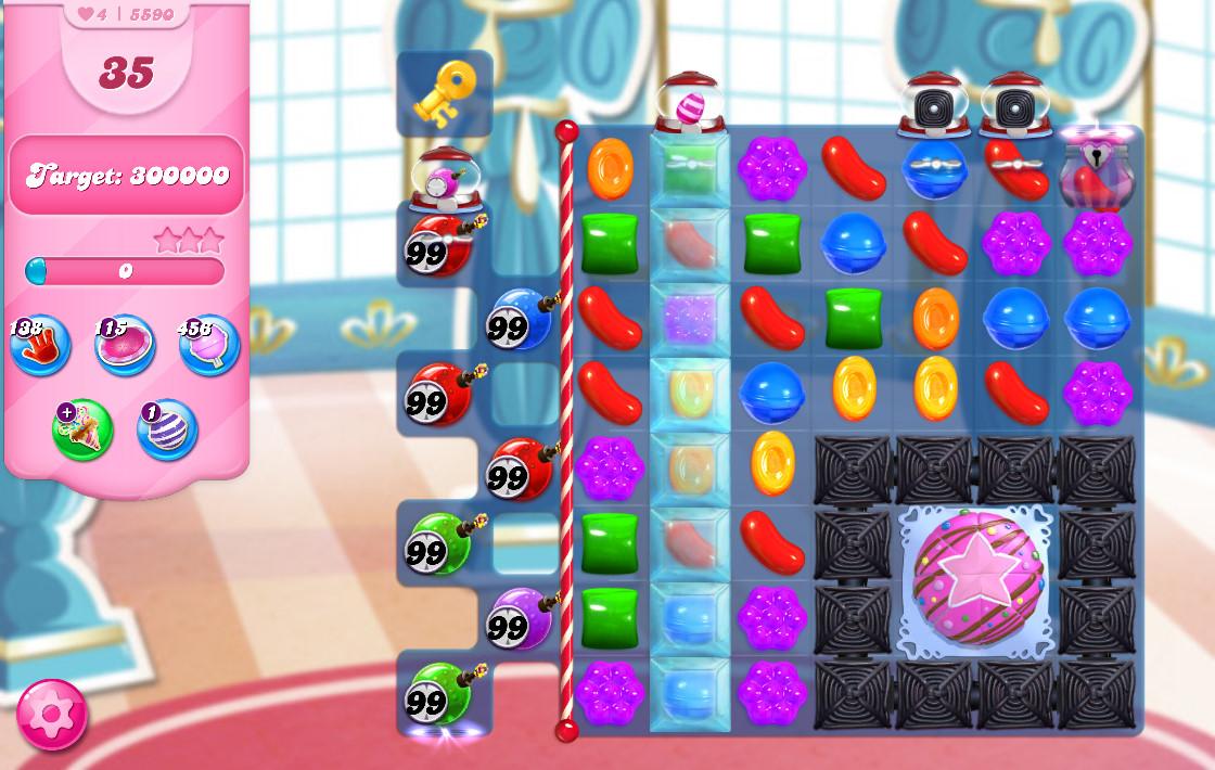 Candy Crush Saga level 5590