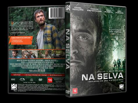 Capa DVD Na Selva [Custom]