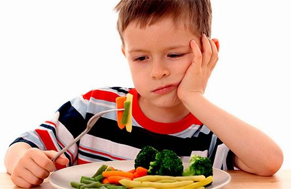 como lograr que los niños coman verduras