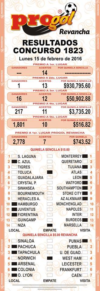 image of Resultados Del Tris De 11 02 17 01