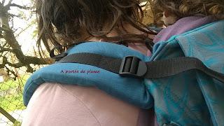 Buzzidil Versatile dossier bretelles préformé mei-tai tissu écharpe
