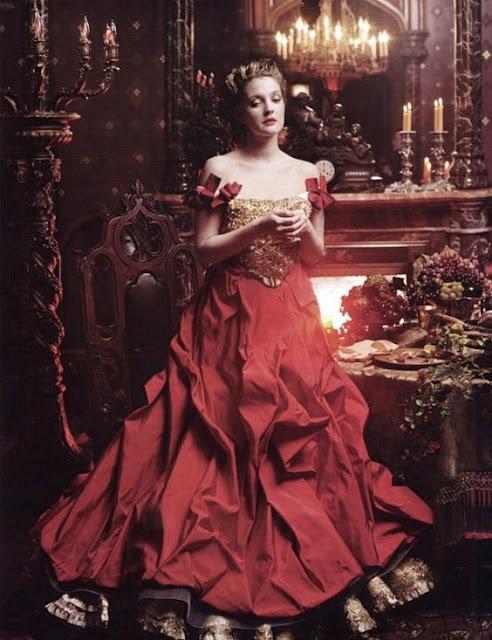 Vestido a bela e a fera, revista de moda