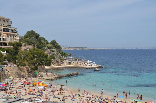 Praia de Illetas, Mallorca.