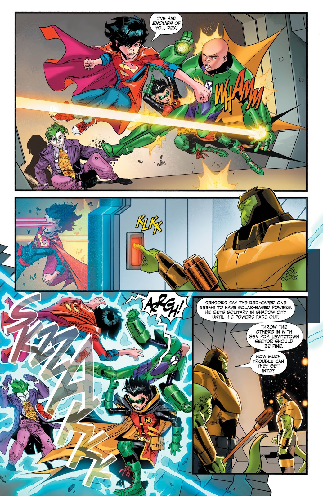 2//6//19 ADVENTURES OF THE SUPER SONS #7 OF 12