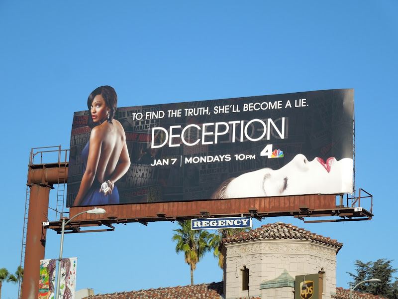 Deception To find the truth billboard